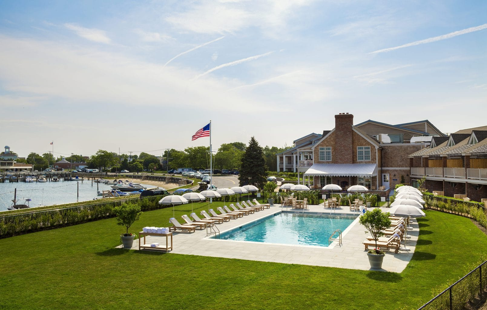 Final Images of Baron's Cove Hotel in Sag Harbor, New York.