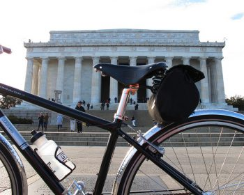 Biking National Mall