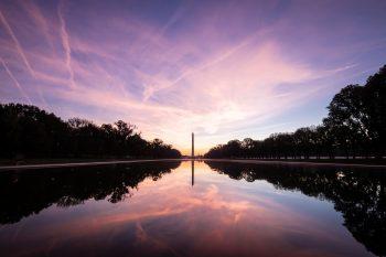 Sunset Washington D.C.