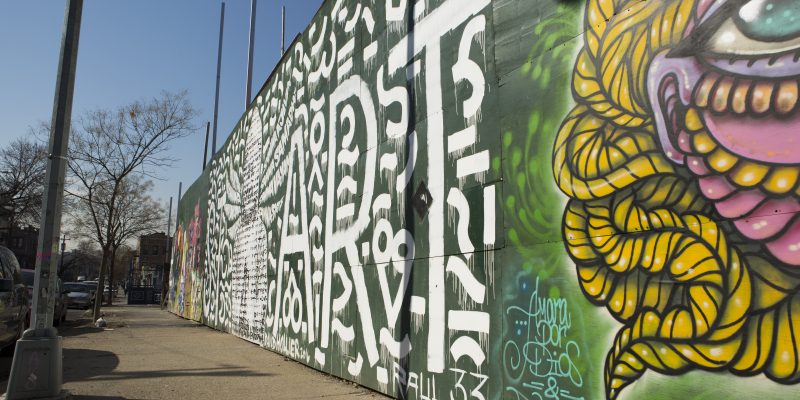 starr street art project bushwick street art david hollier