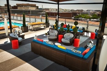 Rooftop of the Embassy Row Hotel