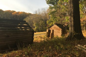 Jockey Hollow National Historic Park Soldier Huts by Sarah L Knapp