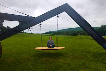 Swing at Storm King