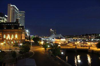 Baltimore Harbor by Nickel Lietzau