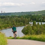 biking in calgary