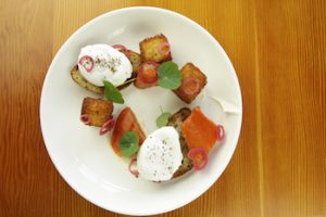 Farm-to-table cooking at OLO