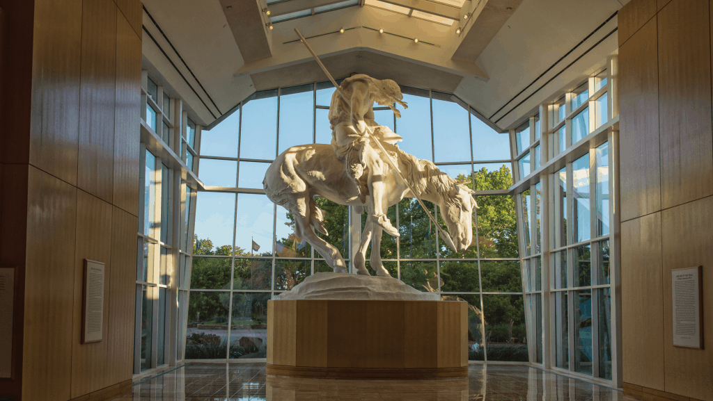 Buffalo Bill at the Oklahoma City National Cowboy Museum
