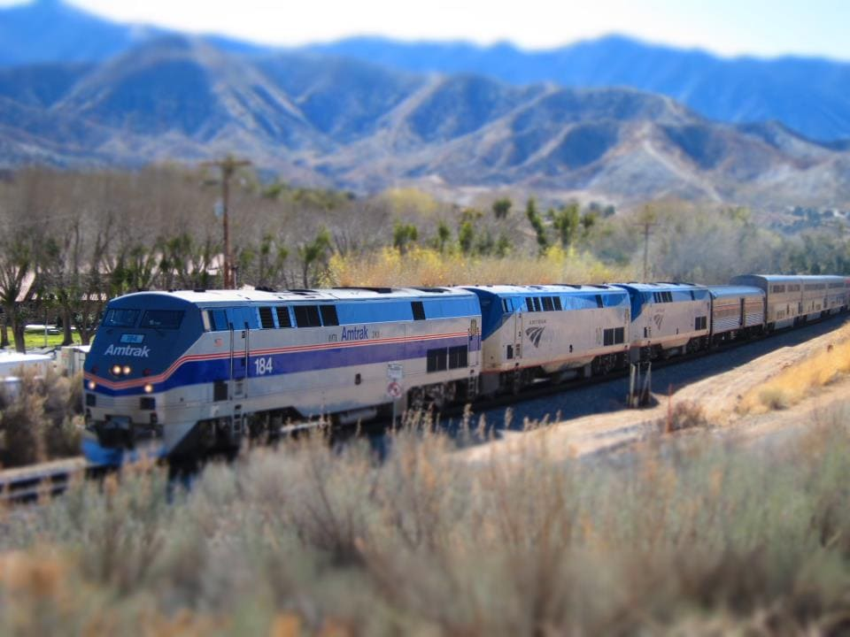 Amtrak to Yosemite