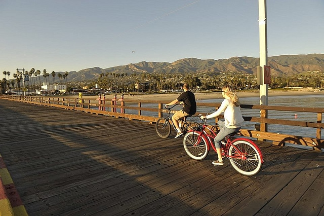 Biking in Santa Barbara
