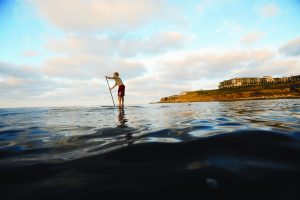 Terranea Resort - Paddle Boarder