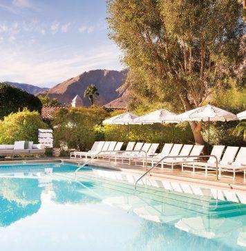 Colony Palms Pool Palm Springs