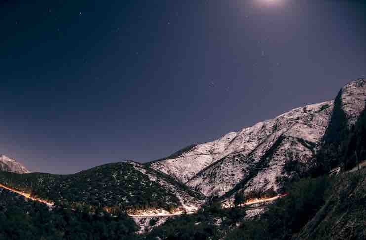 Winter Road Trips in California