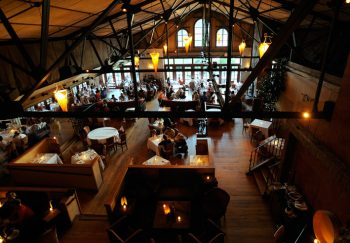 interior of the harvest on the hudson