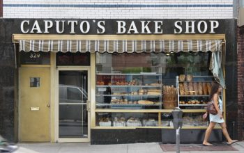 Caputos Bake Shop exterior, Court Street, Brooklyn.