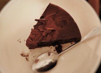 Chocolate Cake on a plate