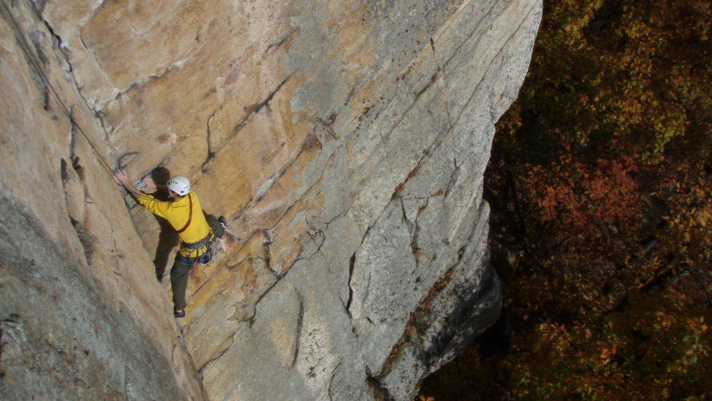 gunks rock climbing
