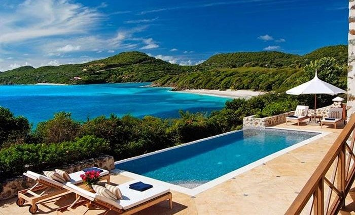 stay in a beach home in the caribbean