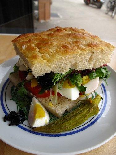 Saltie Scuttlebutt Sandwich