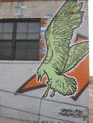 Broken-Crow Graffiti
