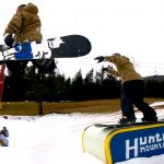 Hunter Mountain Snowboard Jump by Daniel Nugent
