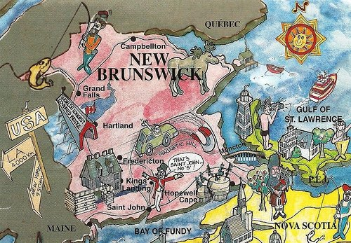 New Brunswick Postcard