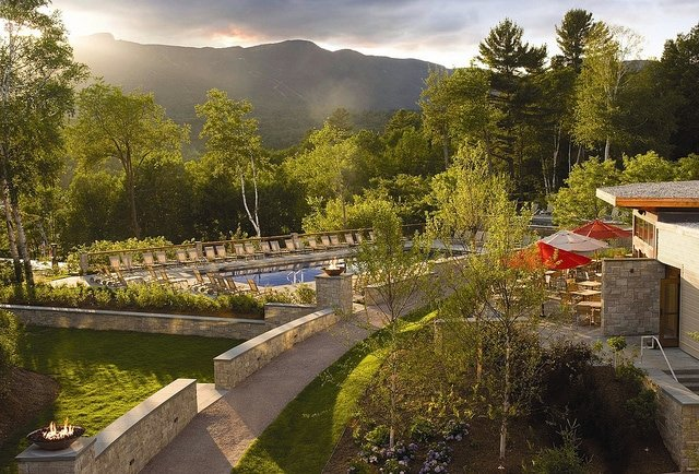 mountain spa getaway