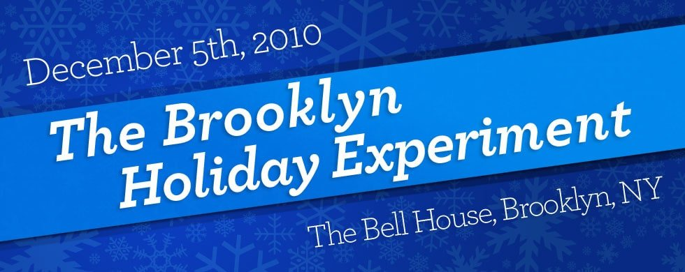 Brooklyn Food Experiment banner