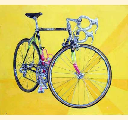 Taliah Lempert bike painting
