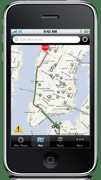 Ride this City app