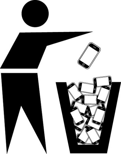 recycle iphones, computers, keyboards