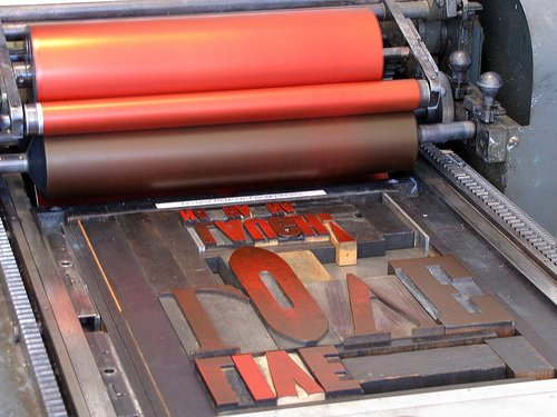 Arm in Brooklyn - Letterpress Studio