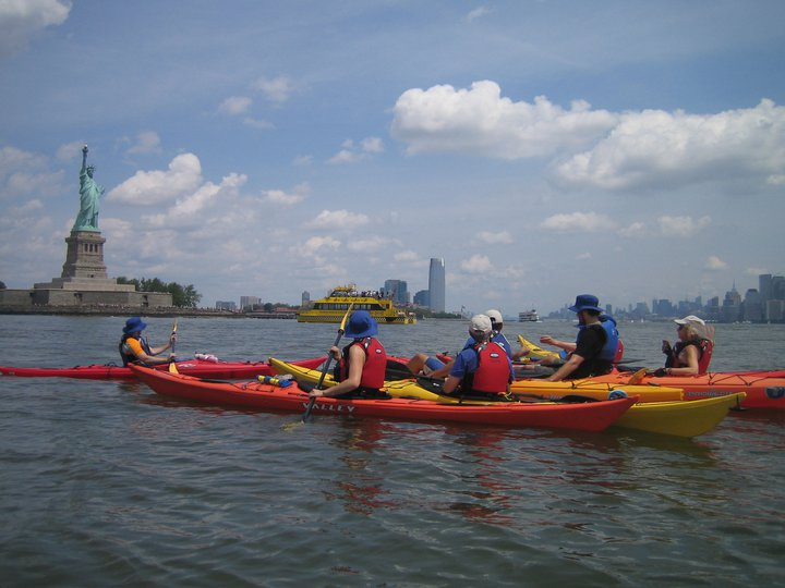 kayaking dumbo