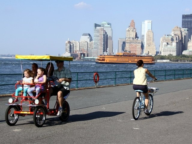spend father's day on governors island