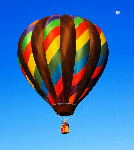 hot air ballooning near nyc