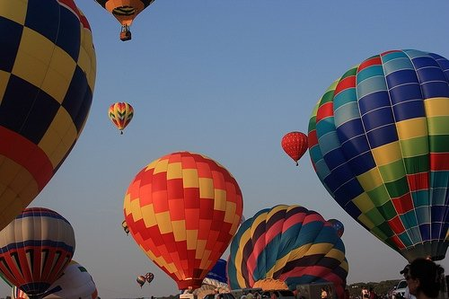 Hot air ballooning in NJ