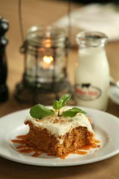 Dessert at Gibbett Hill Grill