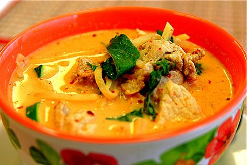 Red Thai Chicken and Pumpkin Curry