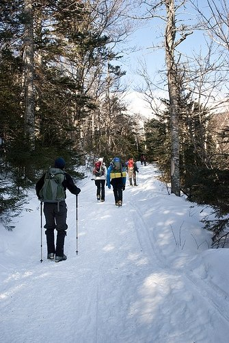 Ascending Mount Washington