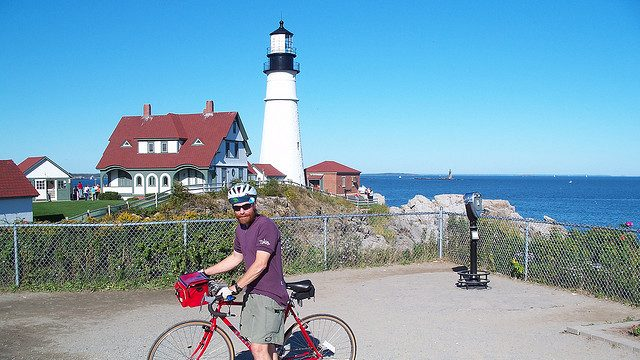 Portland Maine, Biking