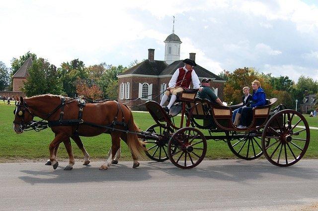 Historic horse ride