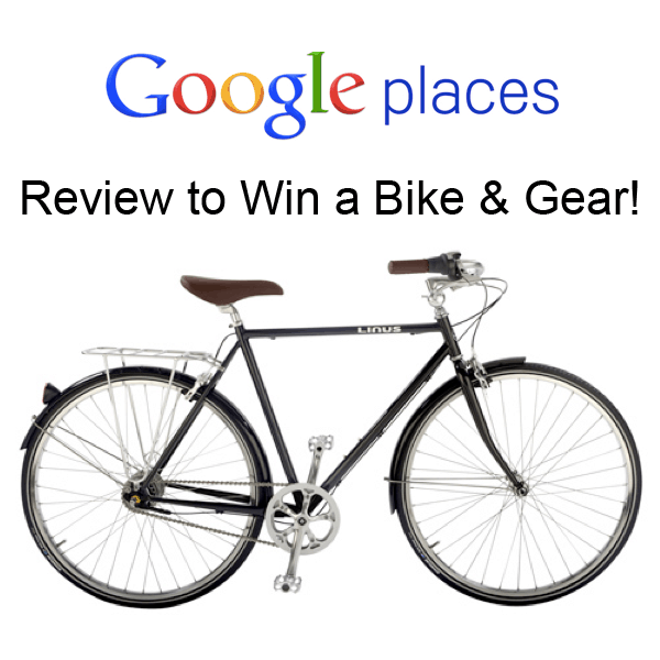 Google Places Bike Contest
