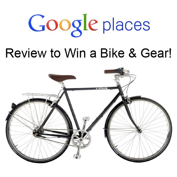 Google Places Bike Contest