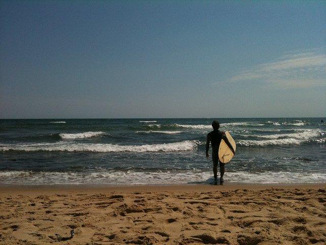 surfing long island