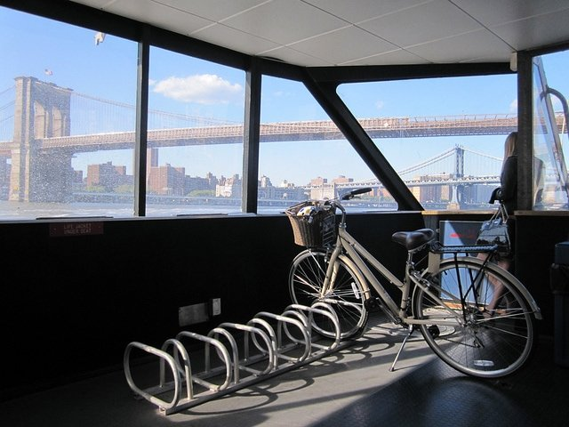 east river ferry bike