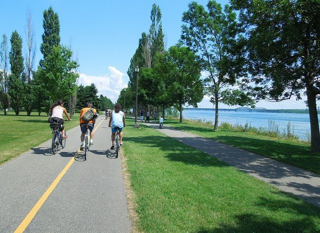 biking lachine canal