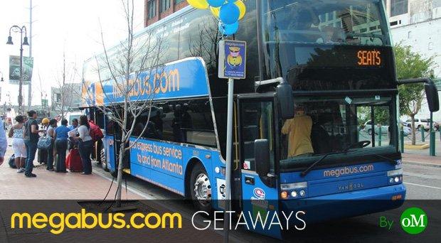 Megabus Getaways