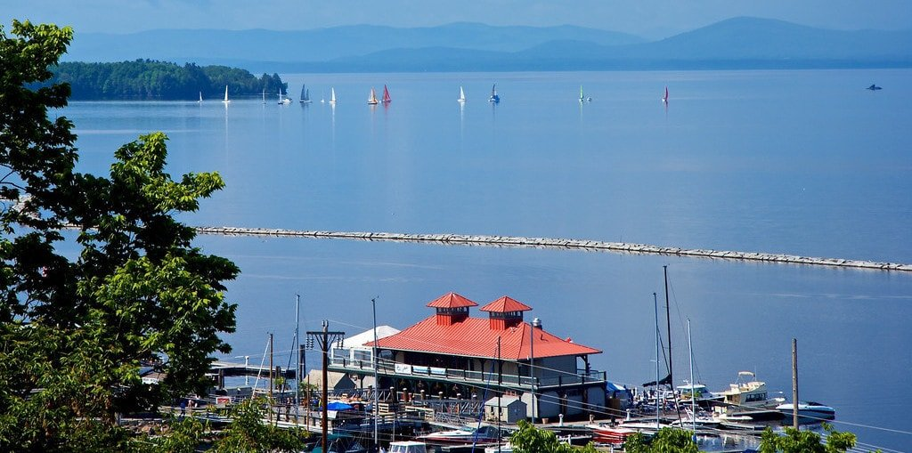 Burlington, VT ake champlain
