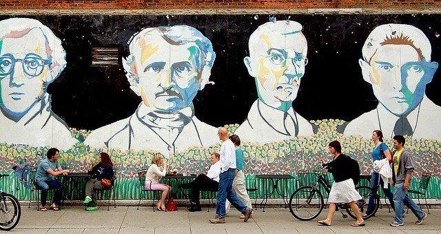 Mural in Ann Arbor