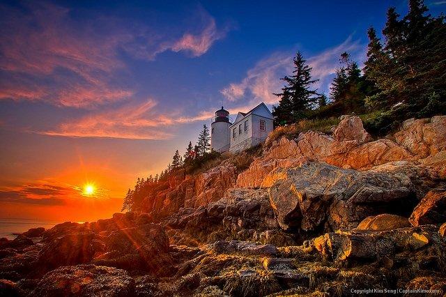 acadia lighthouse