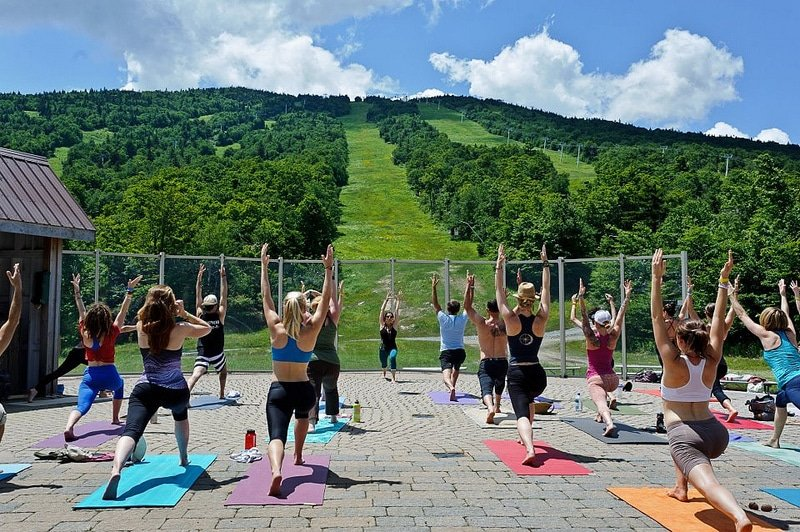 Yoga at Stratton